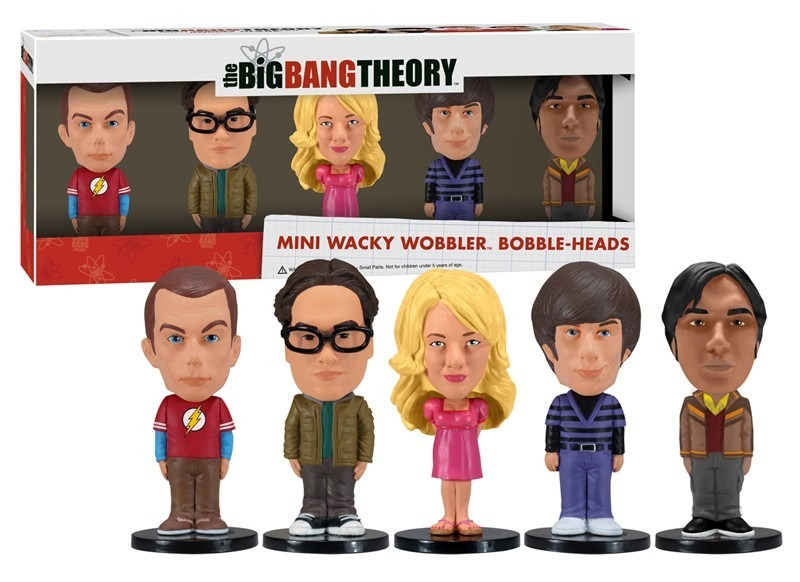 Big Bang Theory Mini Bobble Head Set