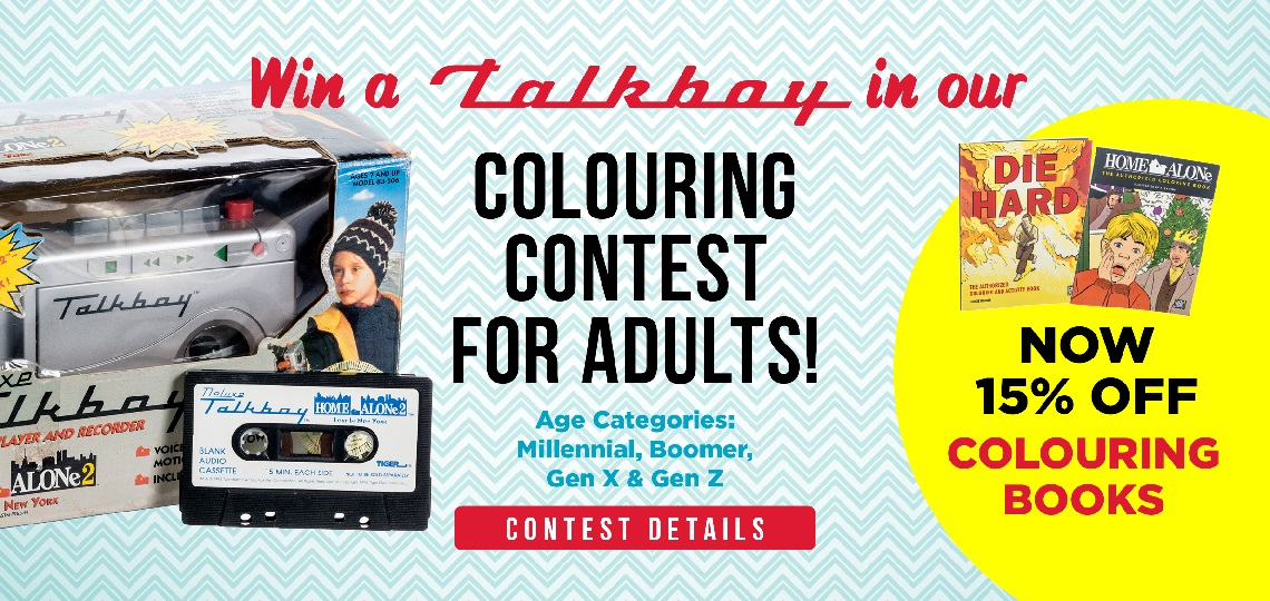 Enter our colouring contest for adults!